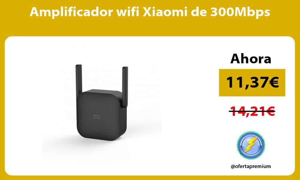 Amplificador wifi Xiaomi de 300Mbps