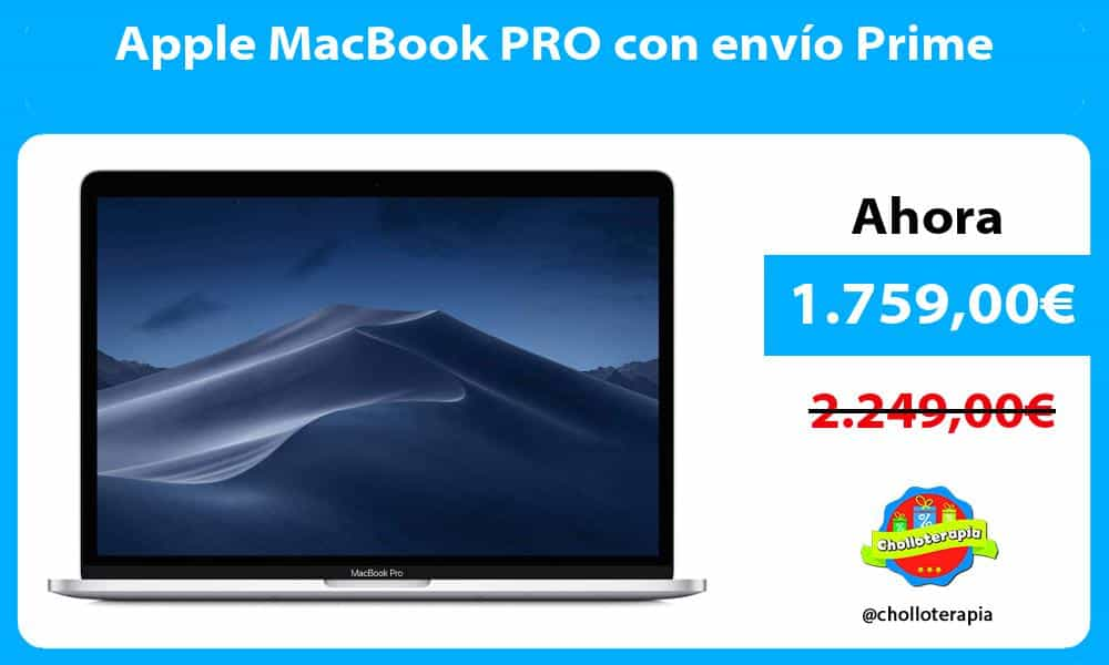 Apple MacBook PRO con envío Prime
