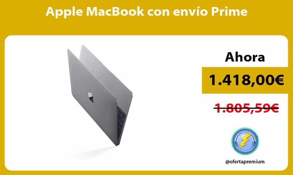 Apple MacBook con envío Prime