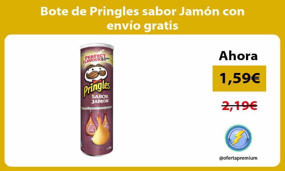 Bote de Pringles sabor Jamón con envío gratis