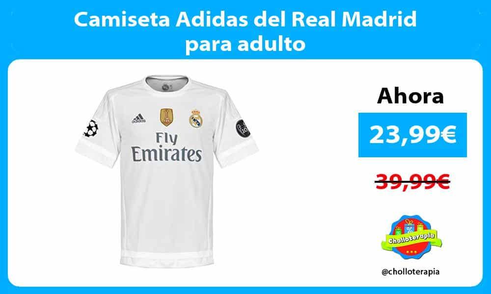 Camiseta Adidas del Real Madrid para adulto