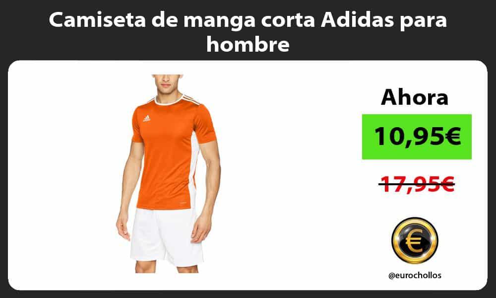 Camiseta de manga corta Adidas para hombre