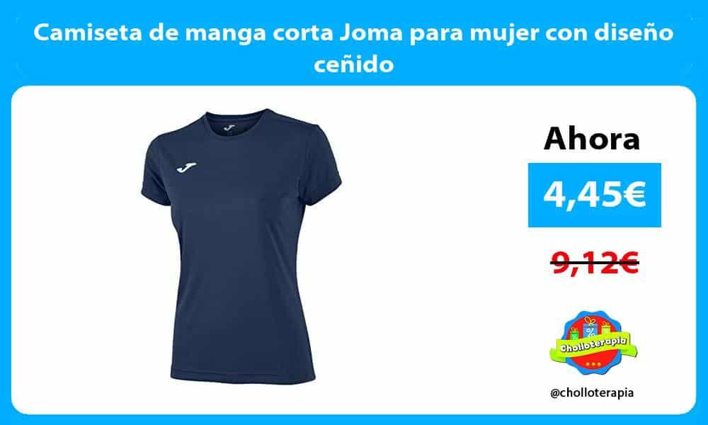 Camiseta de manga corta Joma para mujer con diseño ceñido