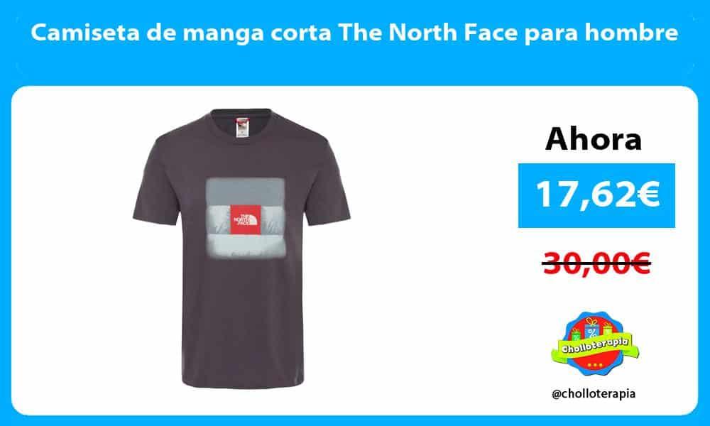 Camiseta de manga corta The North Face para hombre