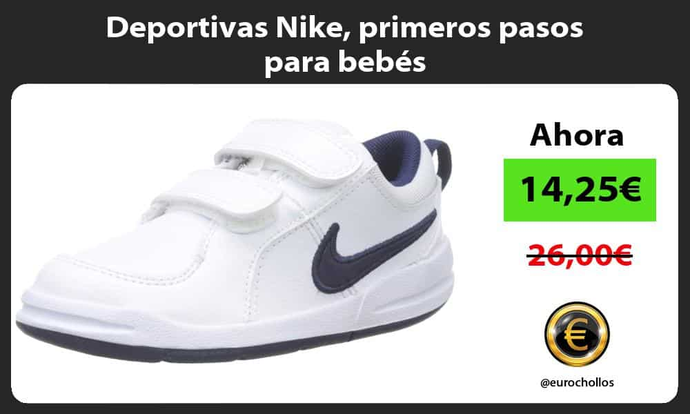 Deportivas Nike primeros pasos para bebés
