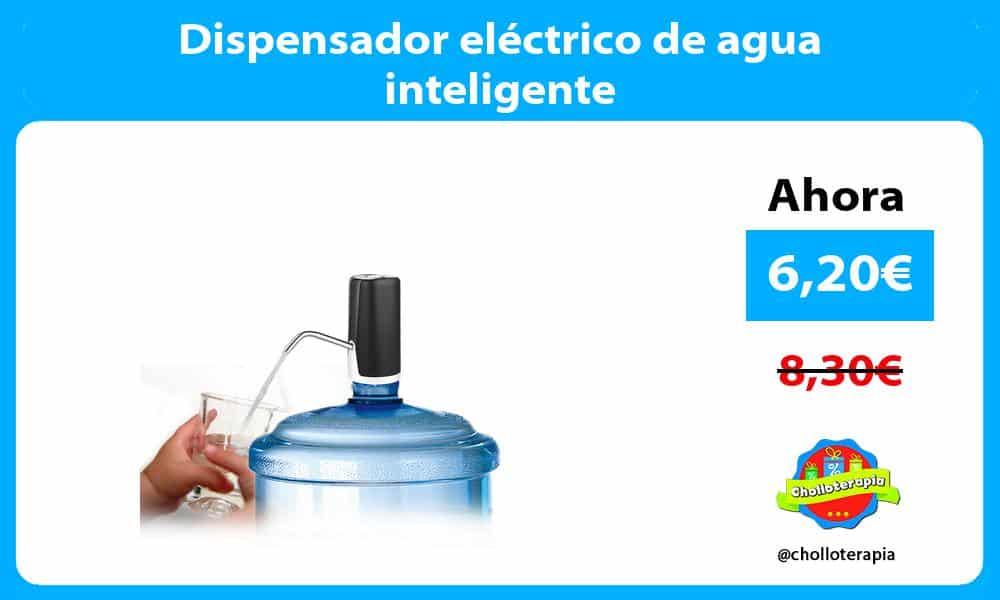 Dispensador eléctrico de agua inteligente