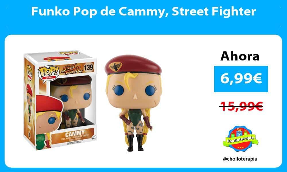 Funko Pop de Cammy Street Fighter