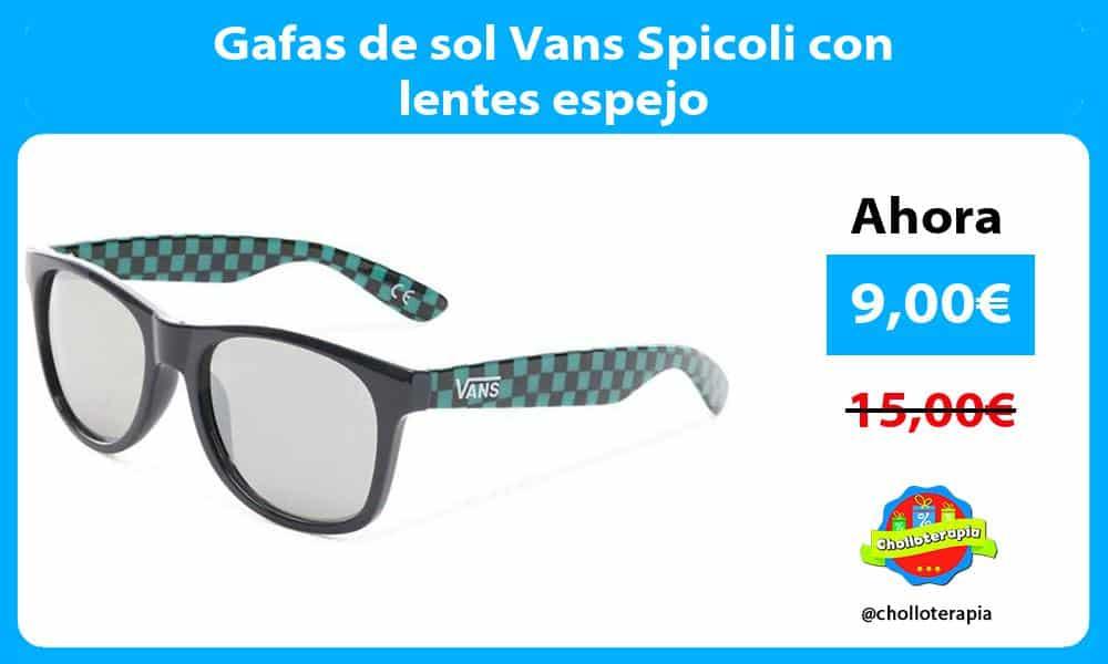 Gafas de sol Vans Spicoli con lentes espejo