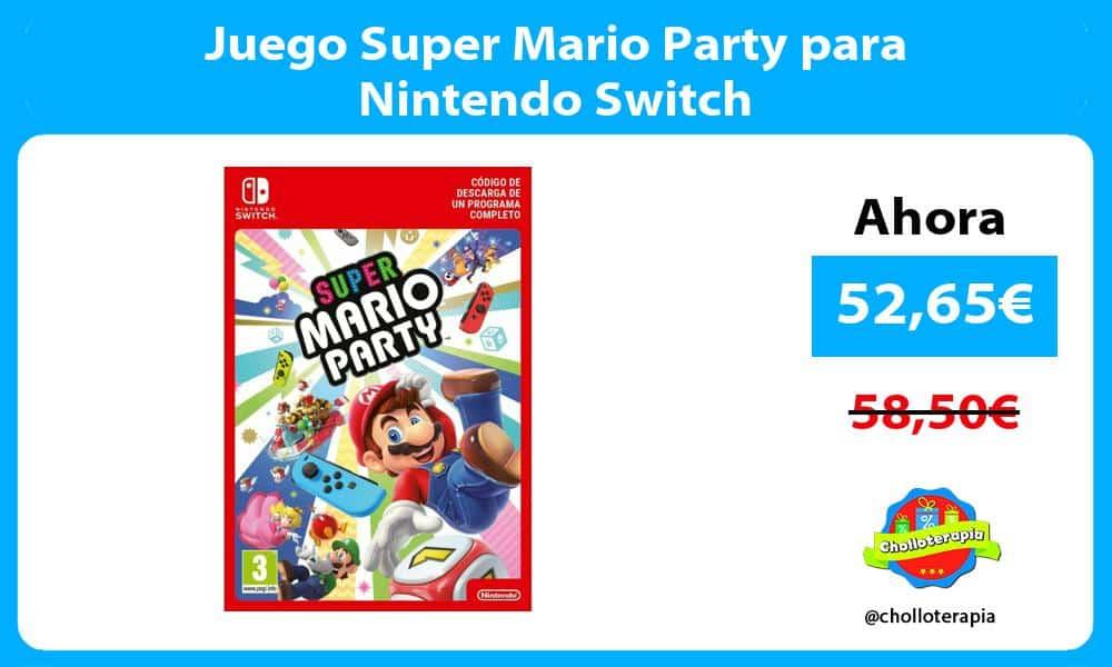 Juego Super Mario Party para Nintendo Switch