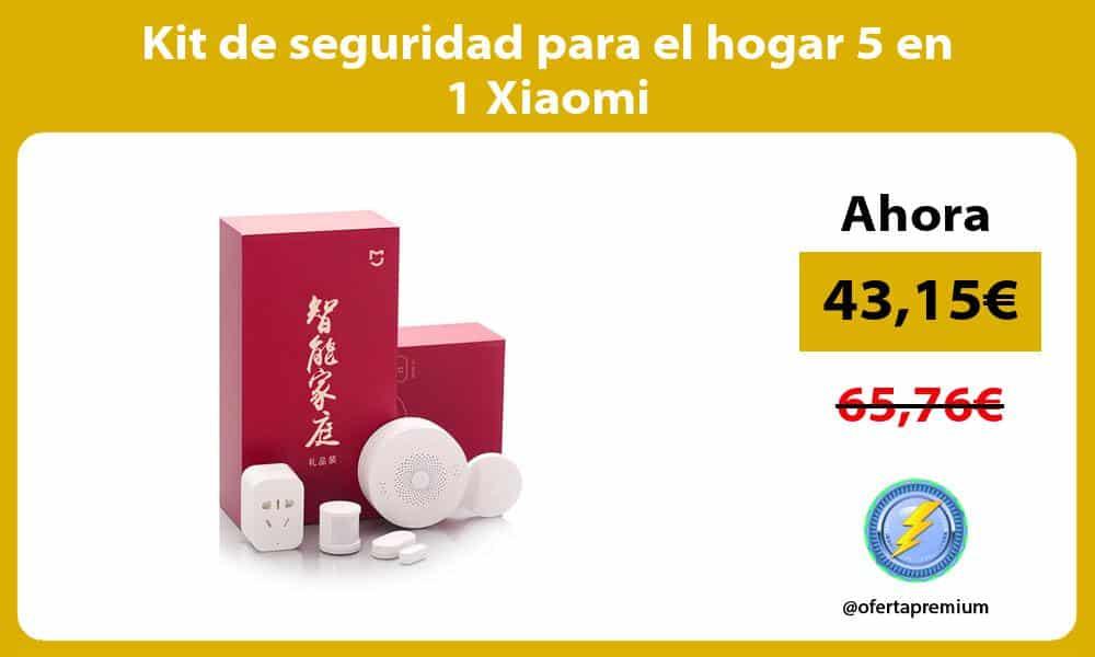 Kit de seguridad para el hogar 5 en 1 Xiaomi
