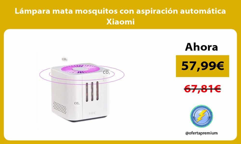 Lámpara mata mosquitos con aspiración automática Xiaomi