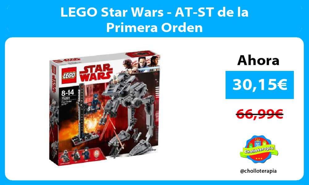 LEGO Star Wars AT ST de la Primera Orden