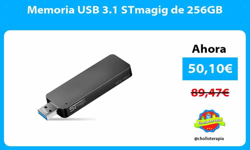 Memoria USB 3.1 STmagig de 256GB