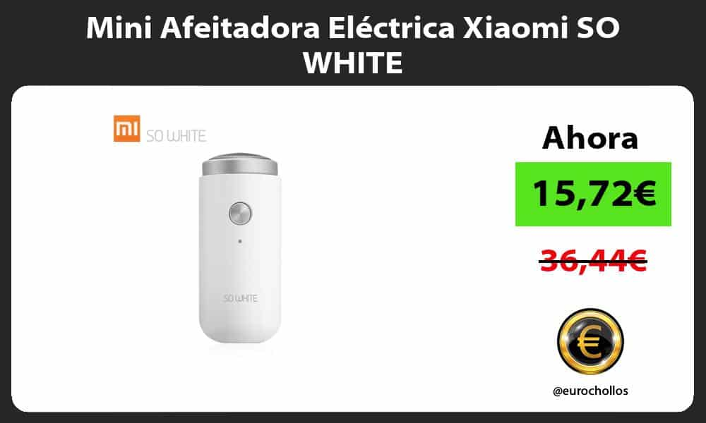 Mini Afeitadora Eléctrica Xiaomi SO WHITE
