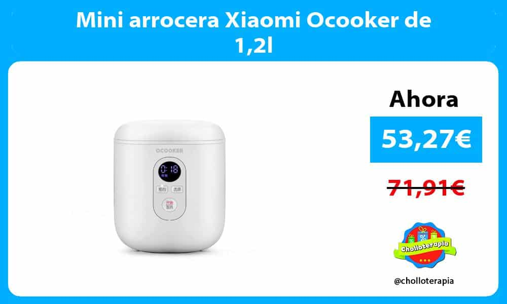 Mini arrocera Xiaomi Ocooker de 12l