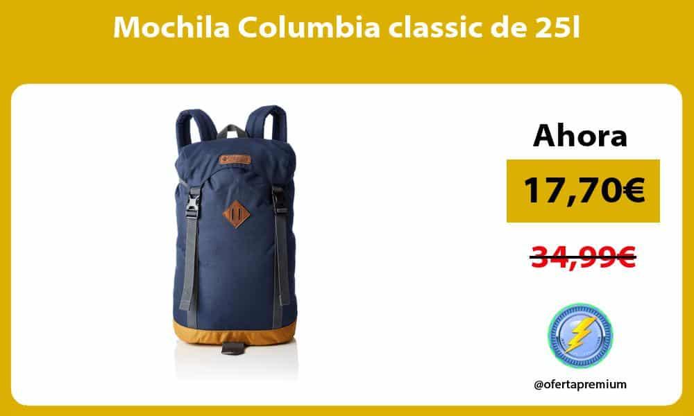 Mochila Columbia classic de 25l