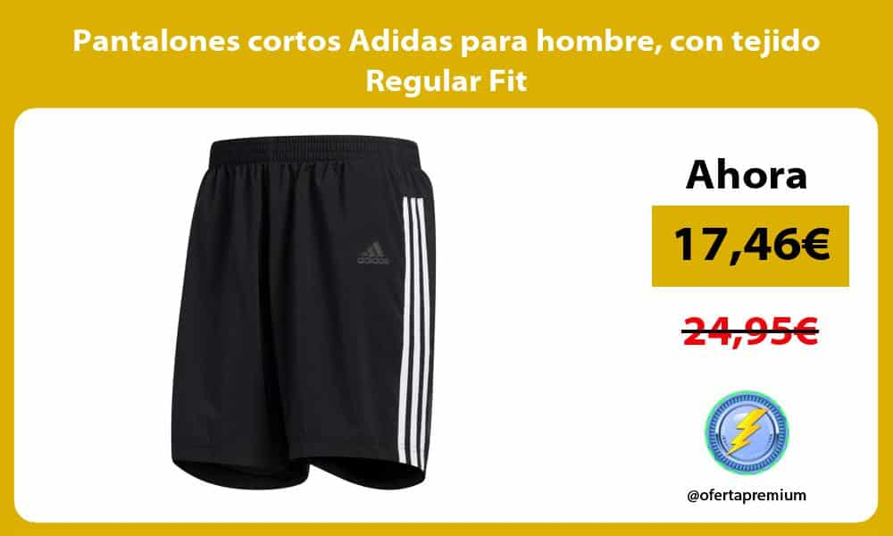 Pantalones cortos Adidas para hombre con tejido Regular Fit
