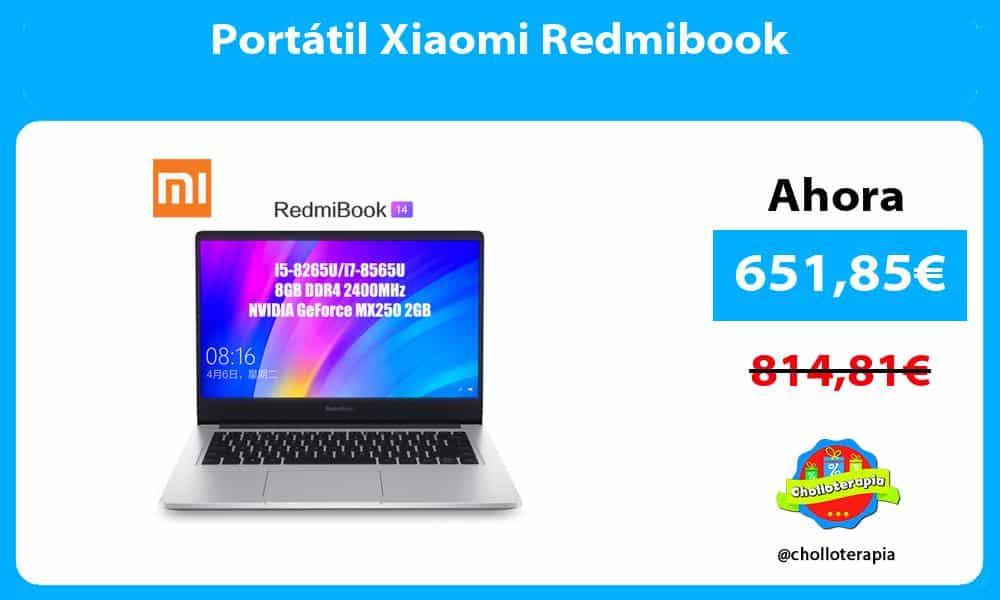 Portátil Xiaomi Redmibook