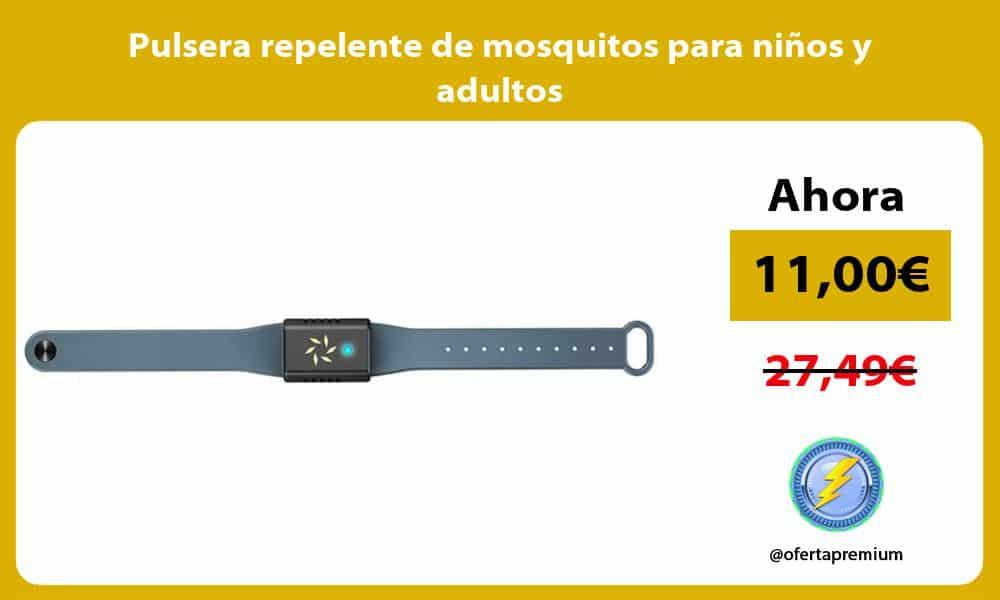 Pulsera repelente de mosquitos para niños y adultos