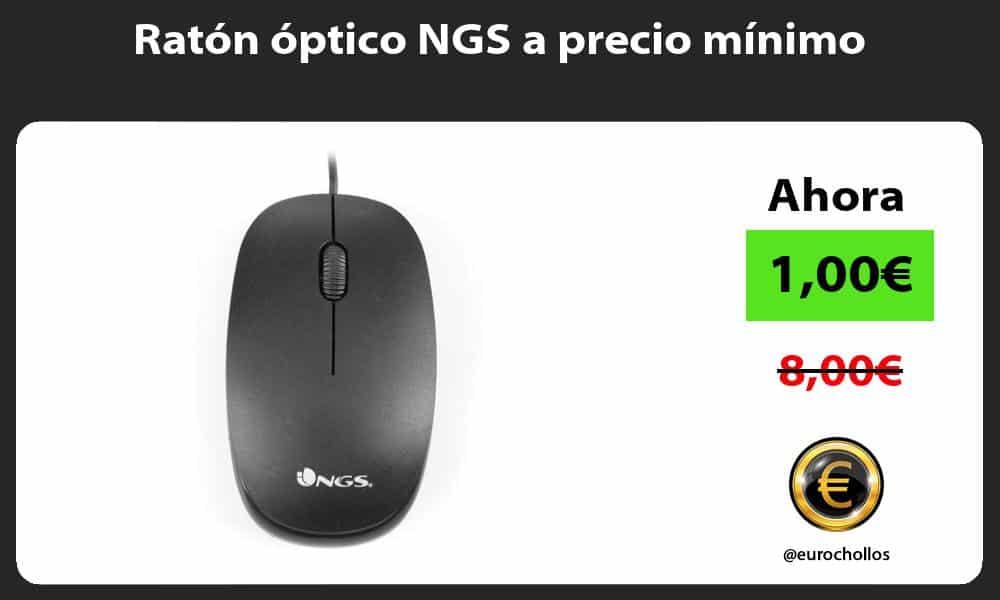 Ratón óptico NGS a precio mínimo