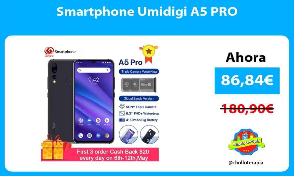 Smartphone Umidigi A5 PRO