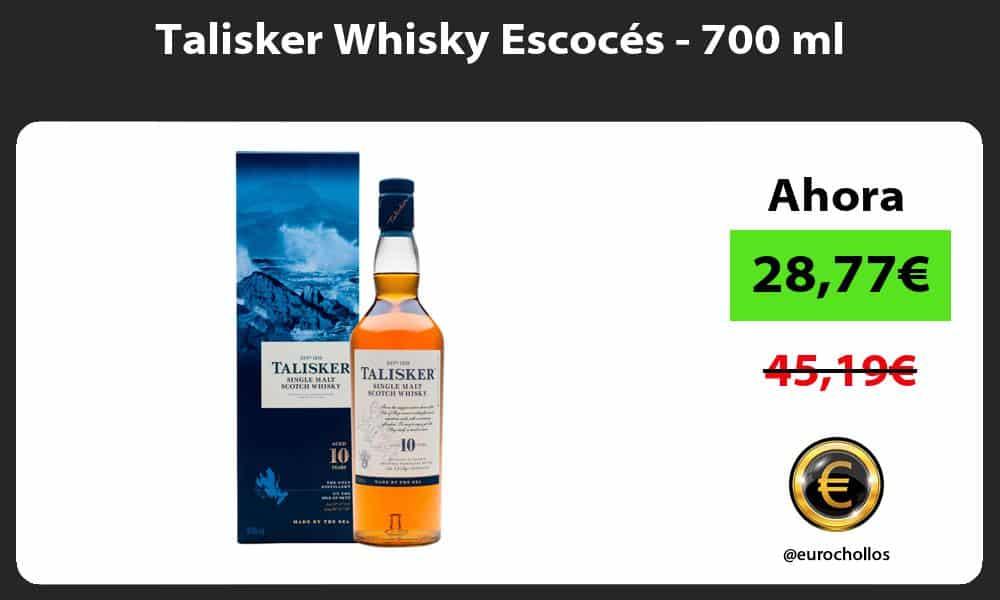 Talisker Whisky Escocés 700 ml