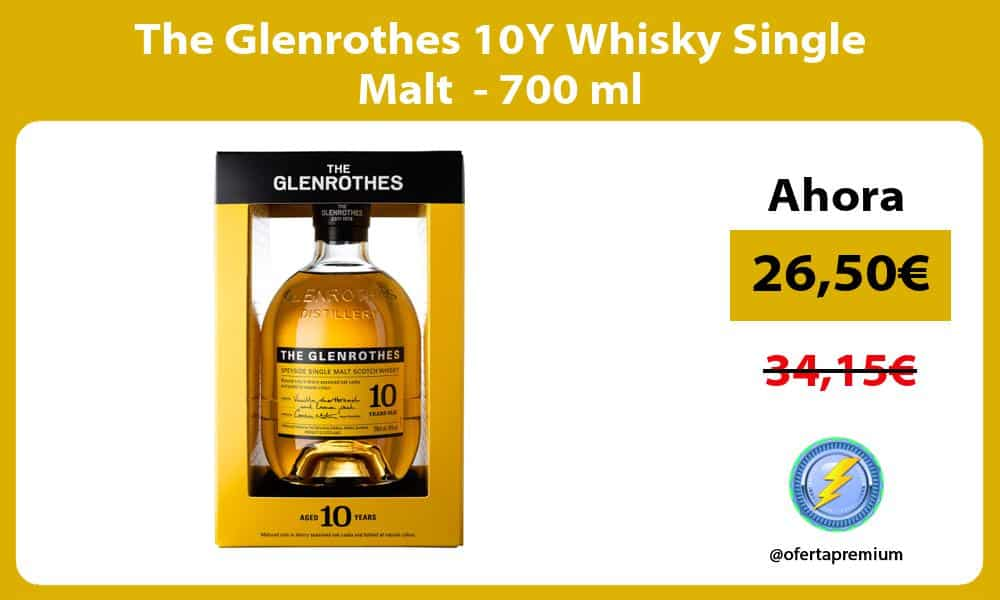 The Glenrothes 10Y Whisky Single Malt 700 ml