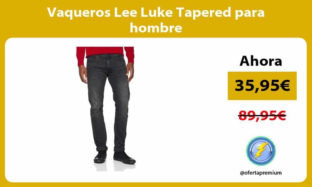 Vaqueros Lee Luke Tapered para hombre