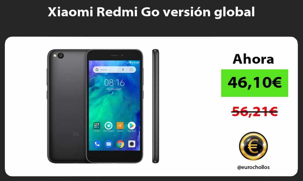 Xiaomi Redmi Go versión global