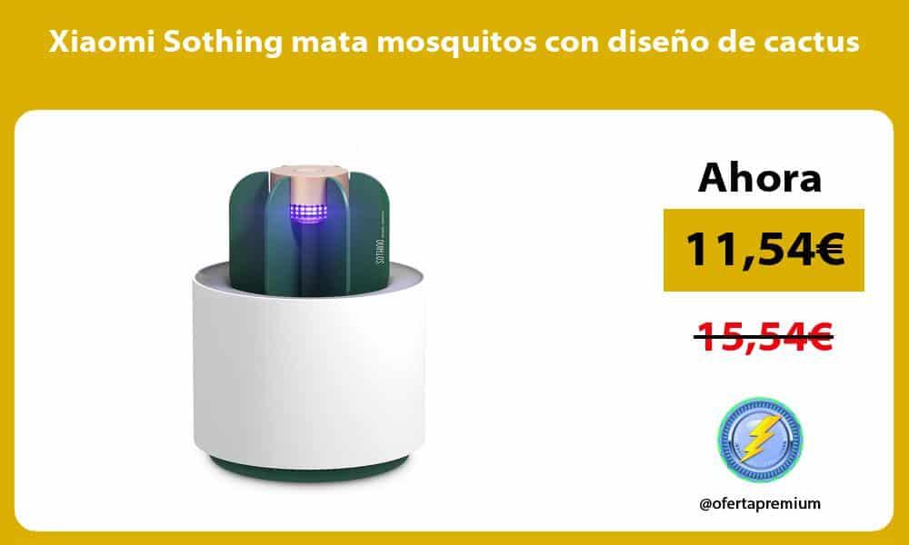 Xiaomi Sothing mata mosquitos con diseño de cactus