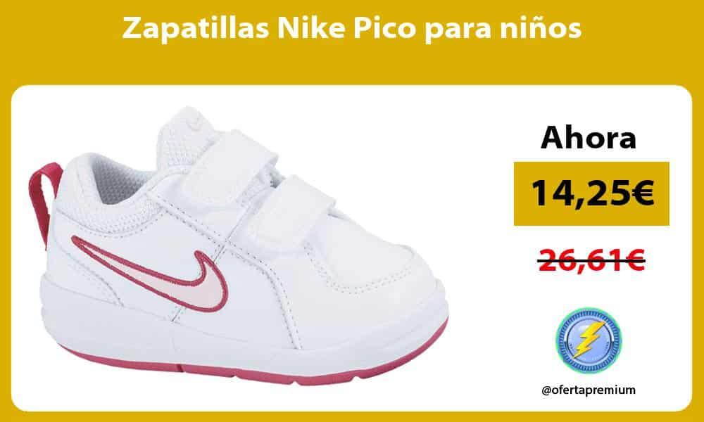 Zapatillas Nike Pico para niños