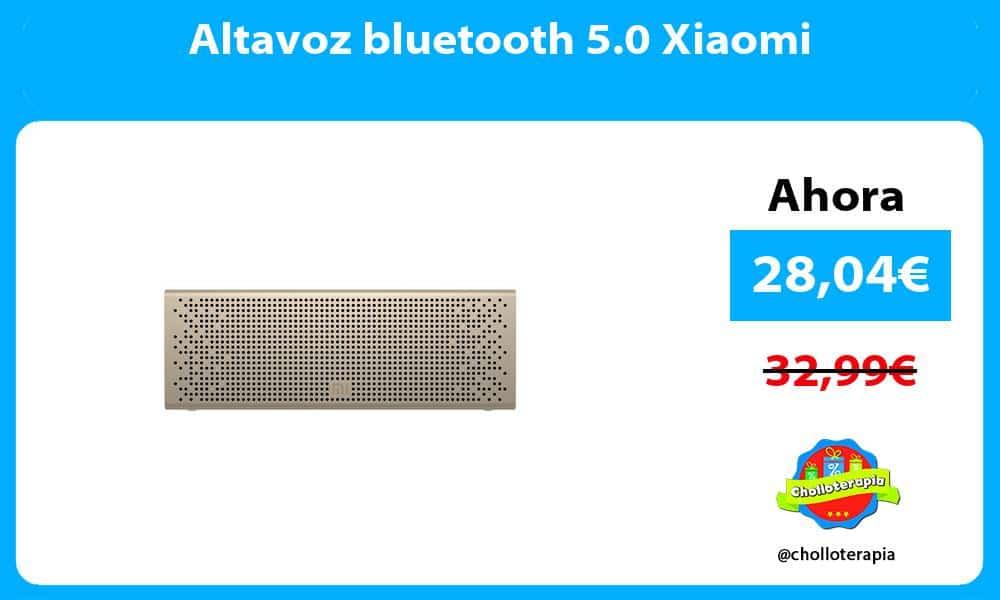 Altavoz bluetooth 5.0 Xiaomi