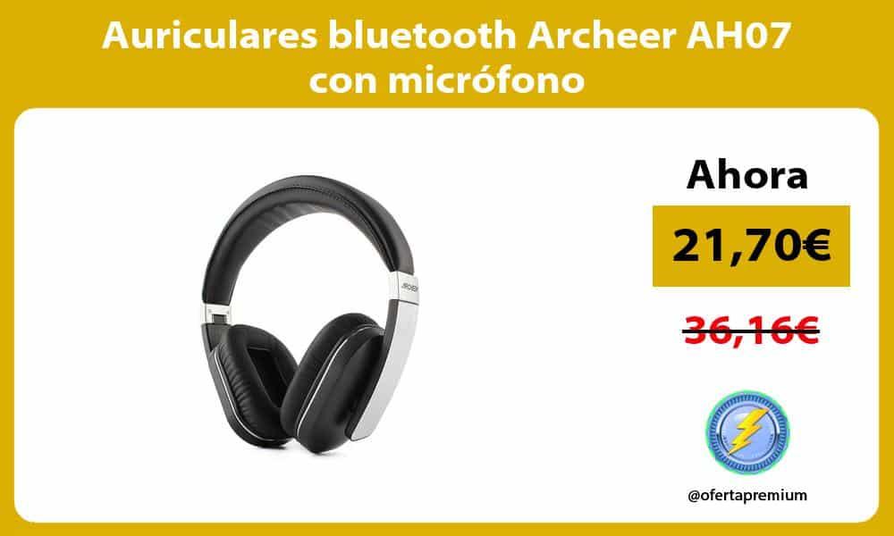 Auriculares bluetooth Archeer AH07 con micrófono