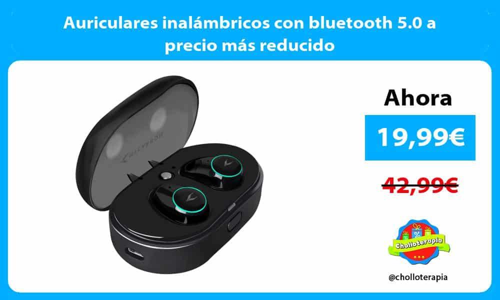 Auriculares inalámbricos con bluetooth 5.0 a precio más reducido