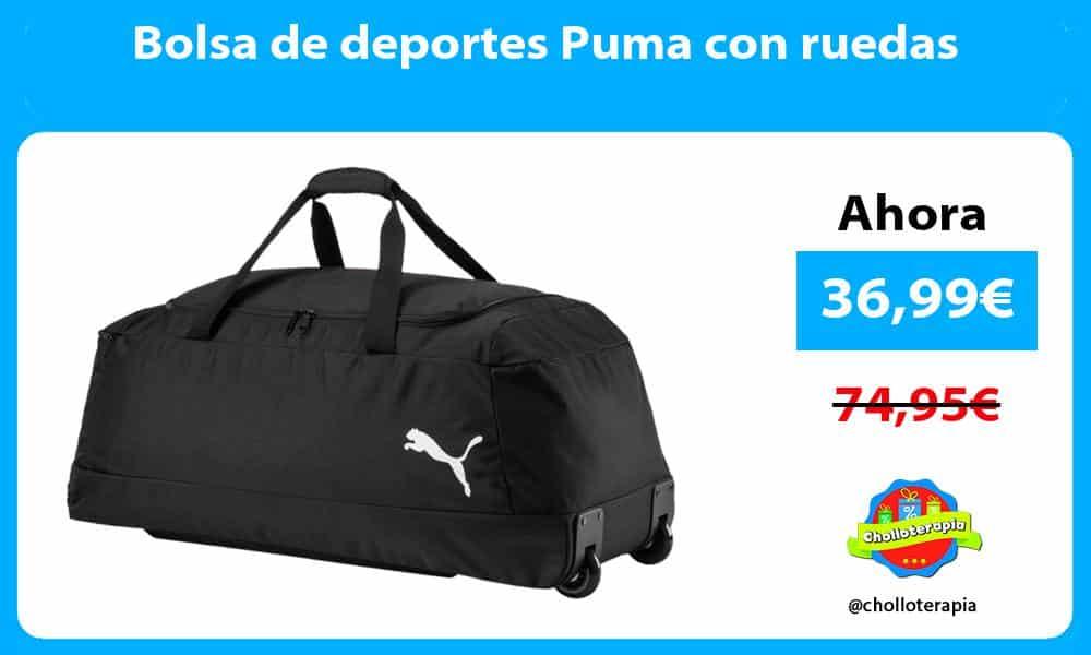 Bolsa de deportes Puma con ruedas