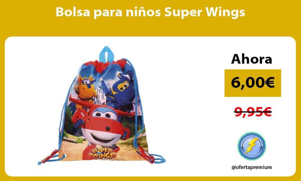 Bolsa para niños Super Wings