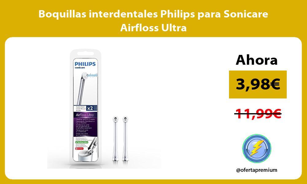Boquillas interdentales Philips para Sonicare Airfloss Ultra