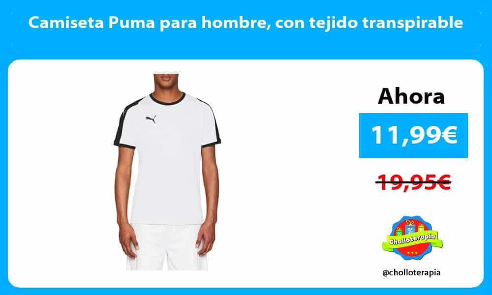 Camiseta Puma para hombre con tejido transpirable