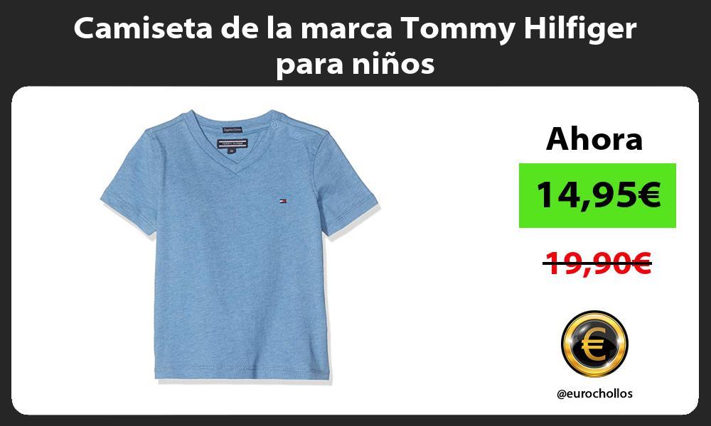Camiseta de la marca Tommy Hilfiger para niños