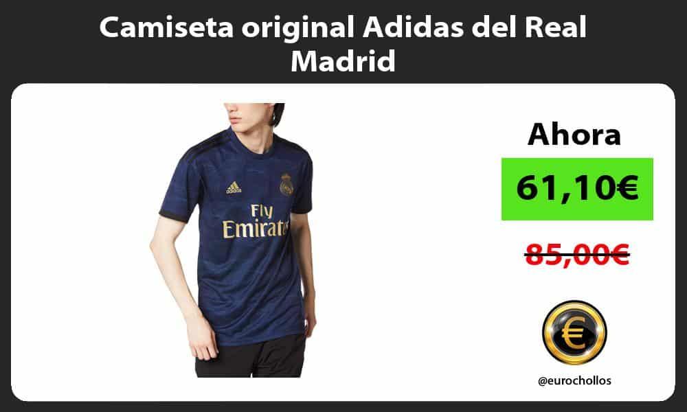 Camiseta original Adidas del Real Madrid