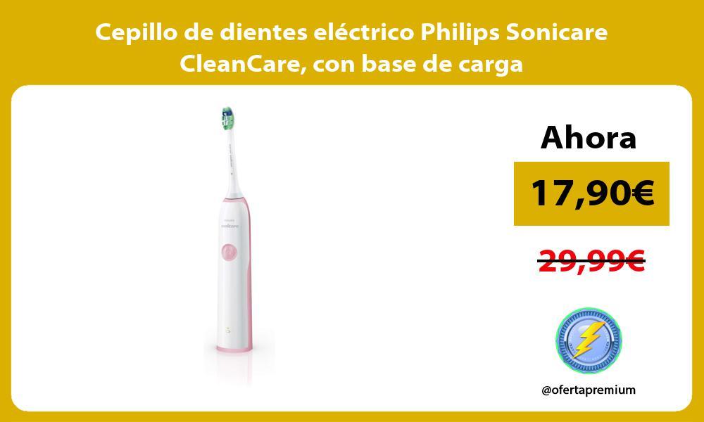 Cepillo de dientes eléctrico Philips Sonicare CleanCare con base de carga