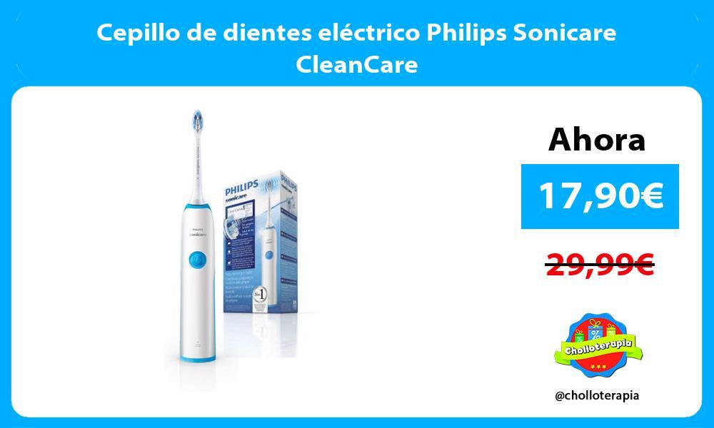 Cepillo de dientes eléctrico Philips Sonicare CleanCare