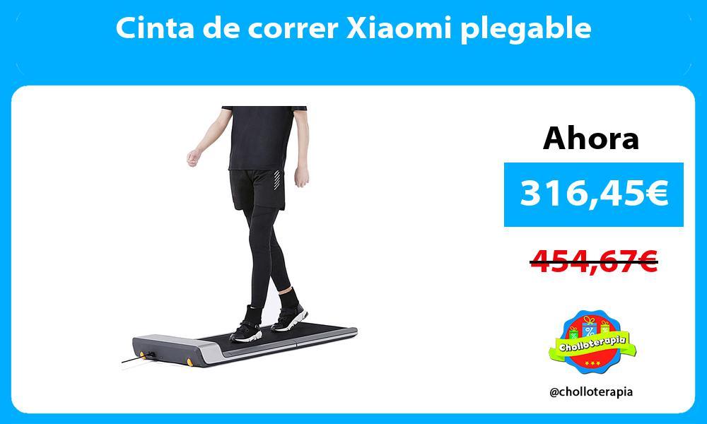 Cinta de correr Xiaomi plegable