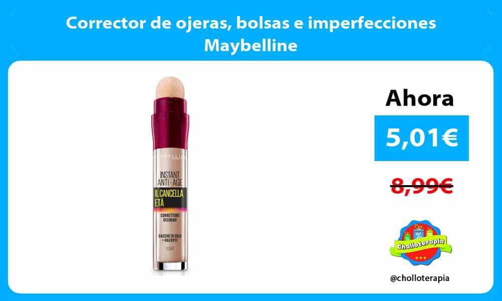 Corrector de ojeras bolsas e imperfecciones Maybelline