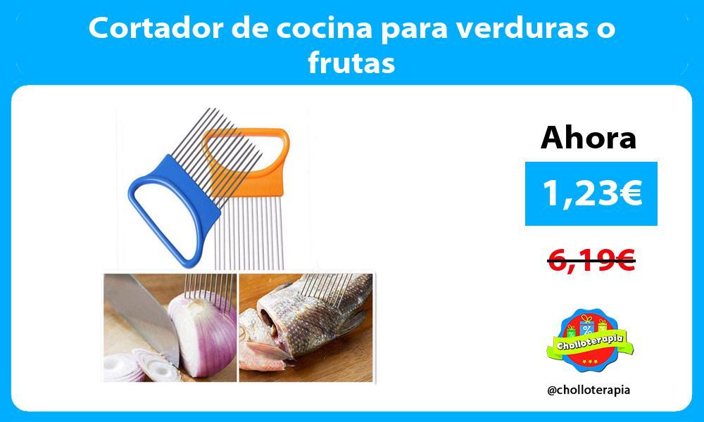 Cortador de cocina para verduras o frutas