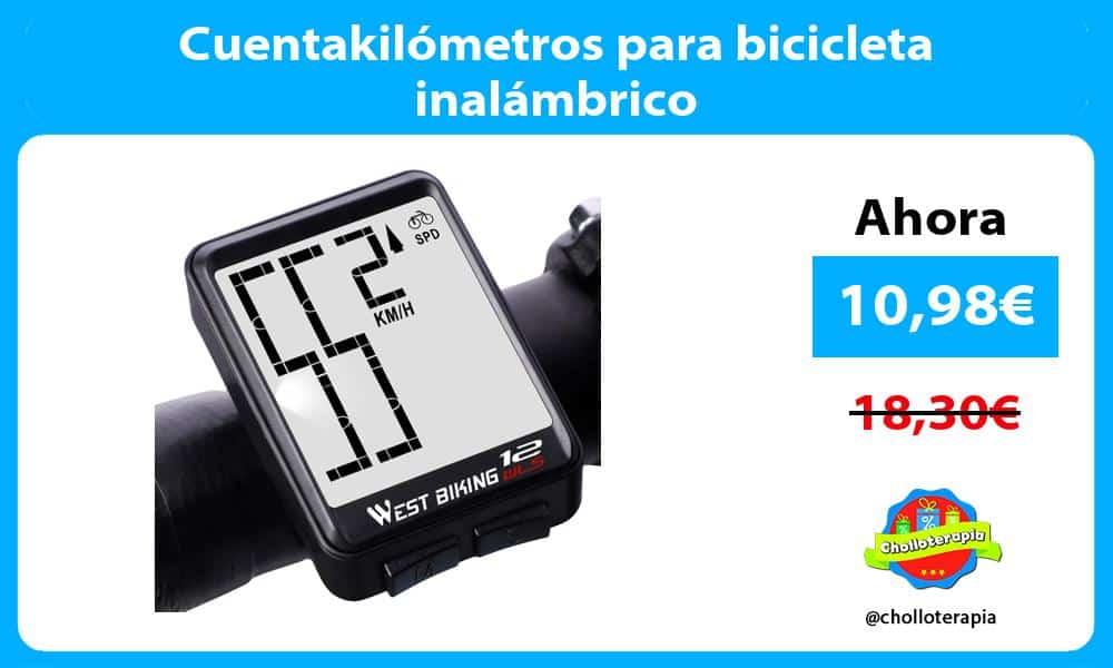 Cuentakilómetros para bicicleta inalámbrico