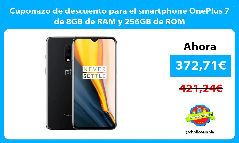 Cuponazo de descuento para el smartphone OnePlus 7 de 8GB de RAM y 256GB de ROM