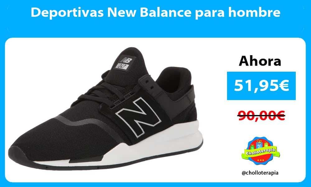 Deportivas New Balance para hombre