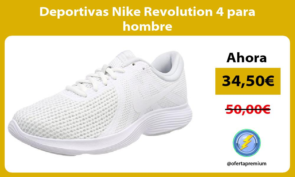 Deportivas Nike Revolution 4 para hombre