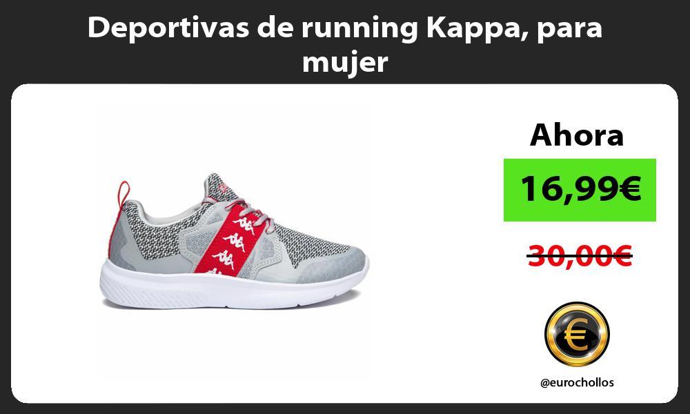 Deportivas de running Kappa para mujer